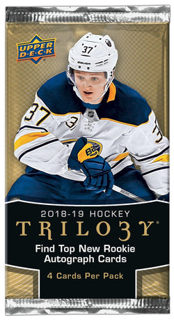 2018-19 Upper Deck Trilogy Hockey Pack