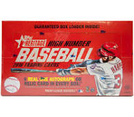 2016 Topps Heritage High Numbers Baseball Box