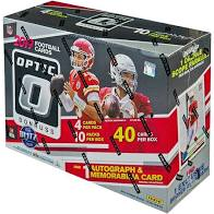 2019 Panini Donruss Optic Football Collectors Box