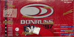 1997 Donruss Baseball Box