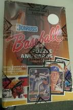 1987 Donruss Baseball Wax Box (BBCE Wrapped FASC)