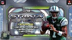 2013 Topps Strata Football Box