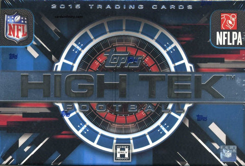 2015 Topps High Tek Football Box