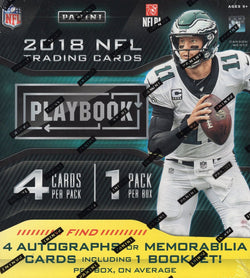 2018 Panini Playbook Football Box