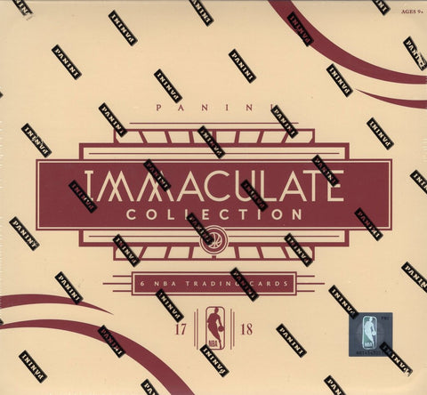 2017-18 Panini Immaculate Basketball Case