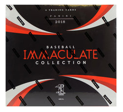 2018 Panini Immaculate Baseball Box