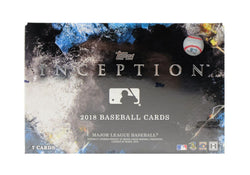 2018 Topps Inception Baseball Case