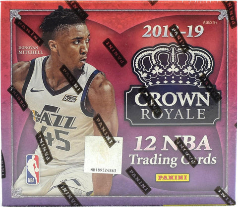 2018-19 Panini Crown Royale Basketball Box