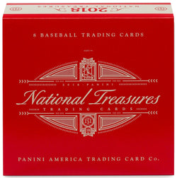 2018 Panini National Treasures Baseball Box
