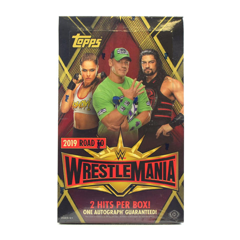 2019 Topps Road to Wrestlemania Hobby Case