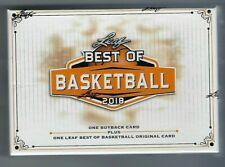 2017 Leaf Best of Basketball Box