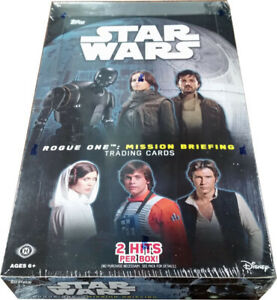 2016 Topps Star Wars Road to Rogue Mission Briefing Box