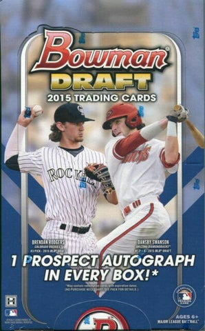 2015 Bowman Draft Baseball Box