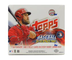 2018 Topps Baseball Series 2 Jumbo Box