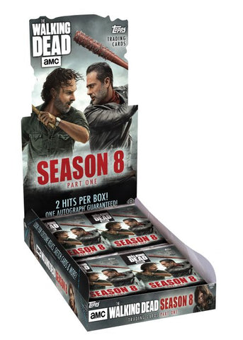 2018 Topps The Walking Dead Season 8 Hobby Box