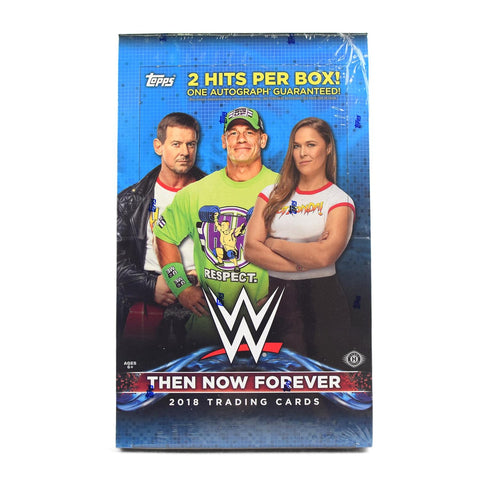2018 Topps Then Now Forever WWE Case