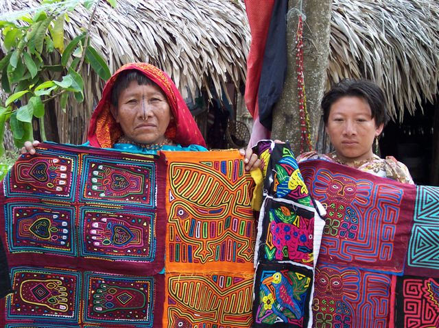 The History Behind Colombian Molas