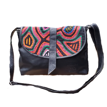 Medium Cross Body Purse - With Mola Design
