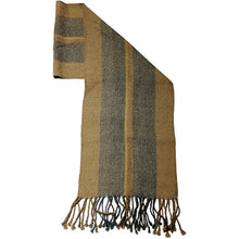 100% Baby Alpaca Scarves (natural dyes)