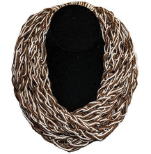 Fingerwoven Wool Necklaces