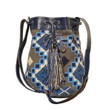 Mochila With Leather Drawstring