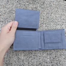 Men's Suede/Leather Wallets with Mola Decoration