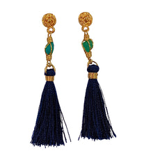Gold plated/silver Emerald Murralla Earrings