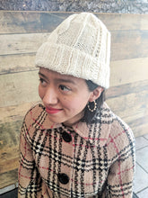 Handwoven hats- blend of natural wool and alpaca