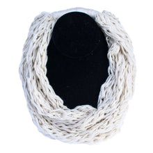 Cotton/wool necklaces