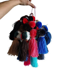 Handmade Wayuu Pom Pom Key Chain, Bag & Car Charm