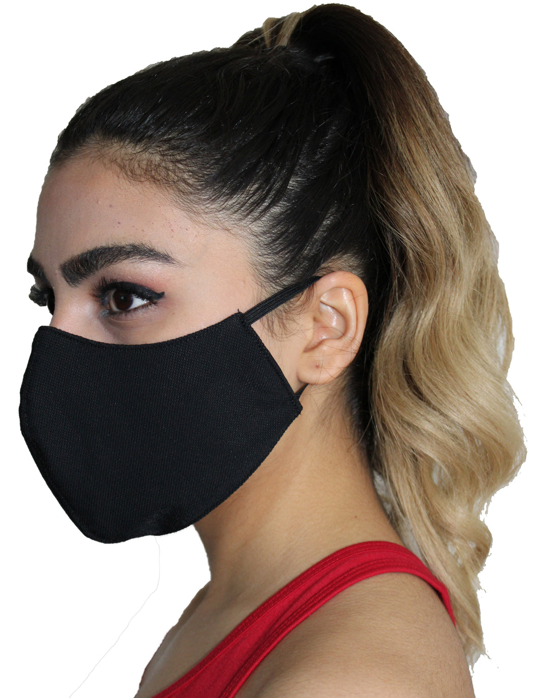 Facemask, comfortable face mask, mask, safety mask, galaxie rouge, red galaxy, black mask