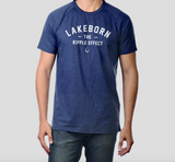 Lakeborn Ripple Effect T - Unisex - Navy