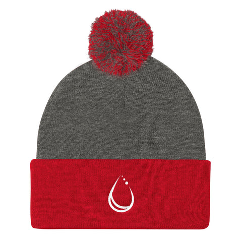 Lakeborn Drop Pom Pom Knit Toque