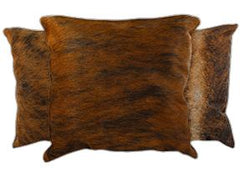 Medium Brindle Cowhide Pillows
