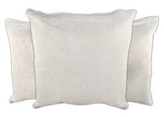 Ivory Cowhide Pillows