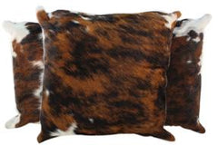 Tricolor Cowhide Pillows