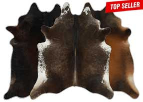Chocolate Cowhide Rugs
