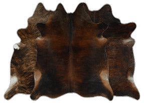 Dark Brindle Cowhide Rugs
