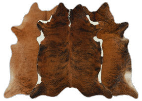 Medium Brindle Cowhide Rugs
