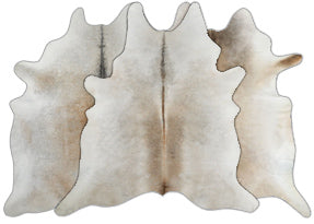 Grey & Beige Cowhide Rugs