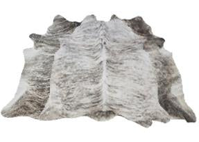 Grey Brindle Cowhide Rugs