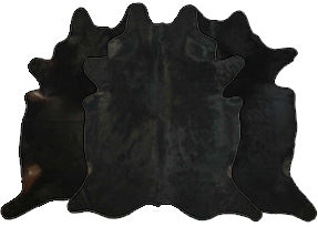 Black Cowhide Rugs