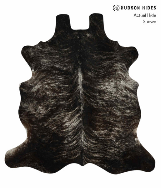 Dark Brindle Cowhide Rug #11766