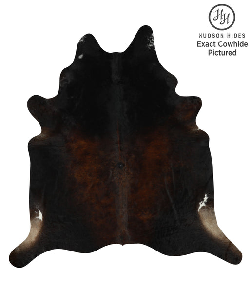 Chocolate Cowhide Rug #12288