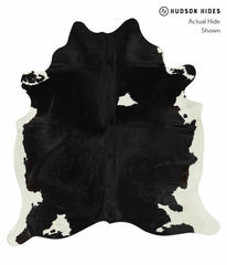 Black and White Cowhide Rug #14611