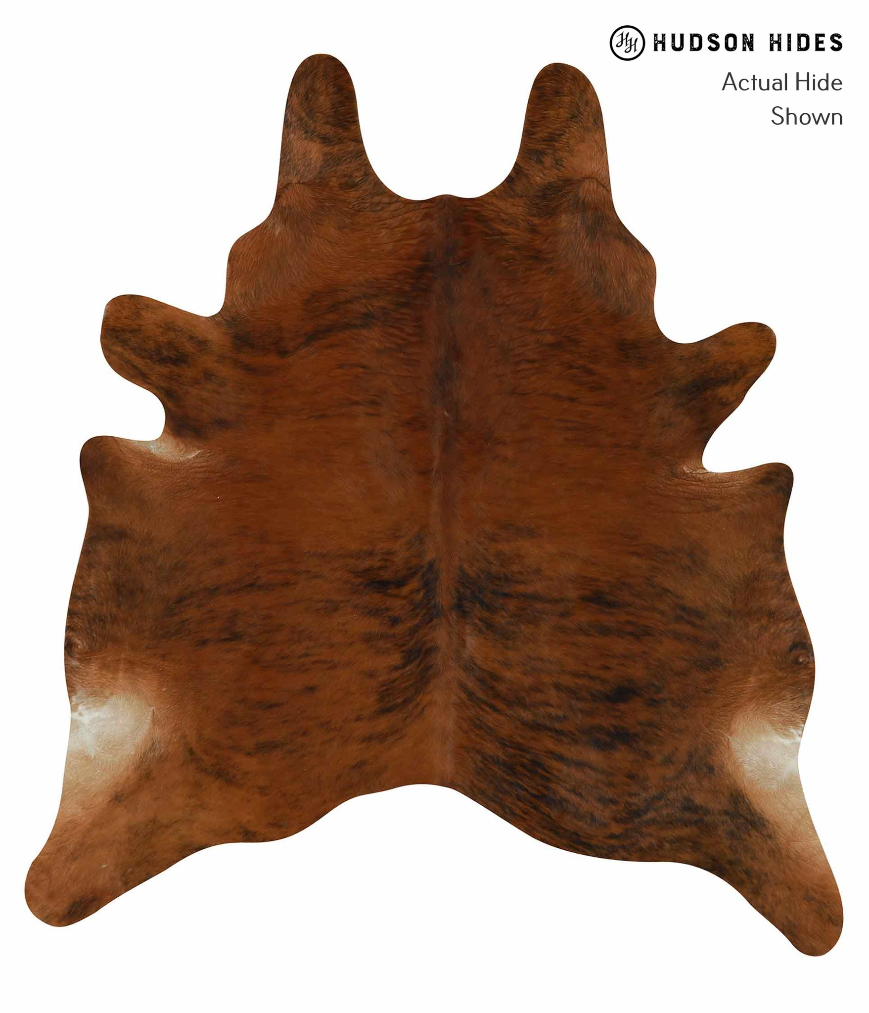 Medium Brindle Cowhide Rug #14675