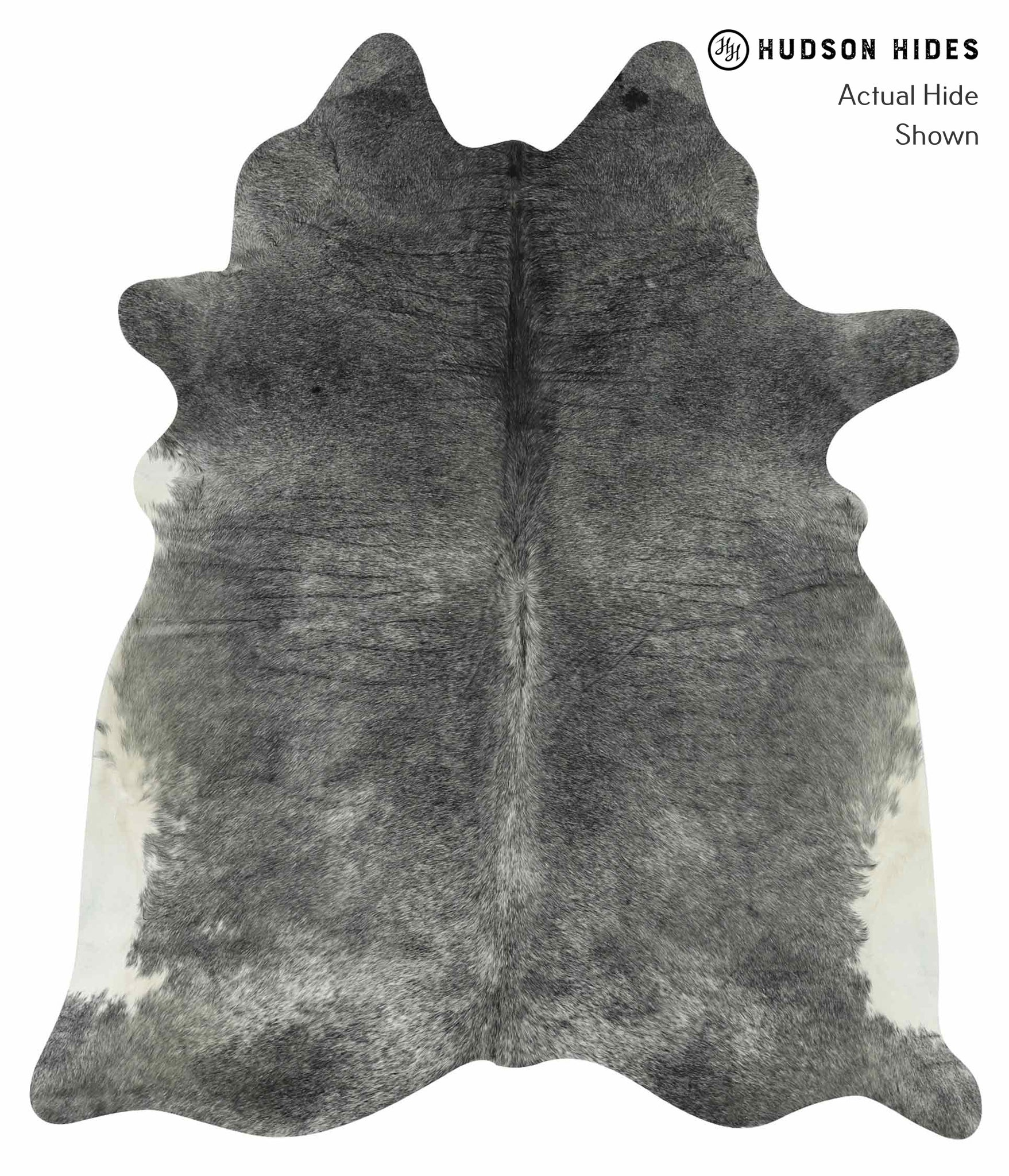 Medium Grey Cowhide Rug #14732