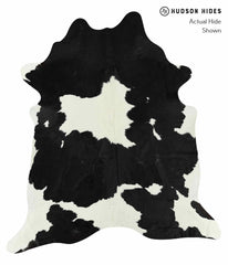 Black and White Cowhide Rug #14878