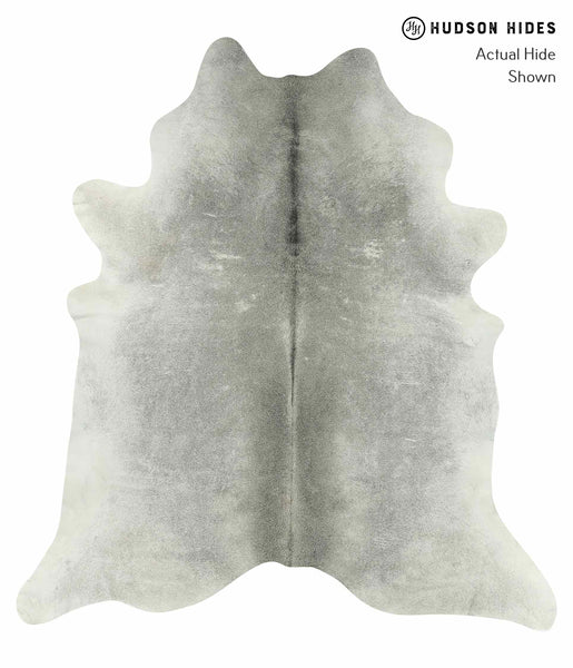 Medium Grey Cowhide Rug #14940