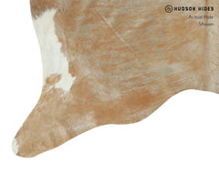 Light Brindle Cowhide Rug #15011